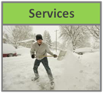 Services Snow Button